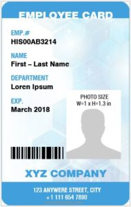 id cards the history types sizes templates microsoft word id