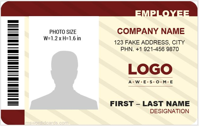 membership card template publisher