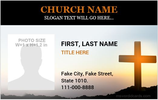 Church ID Card