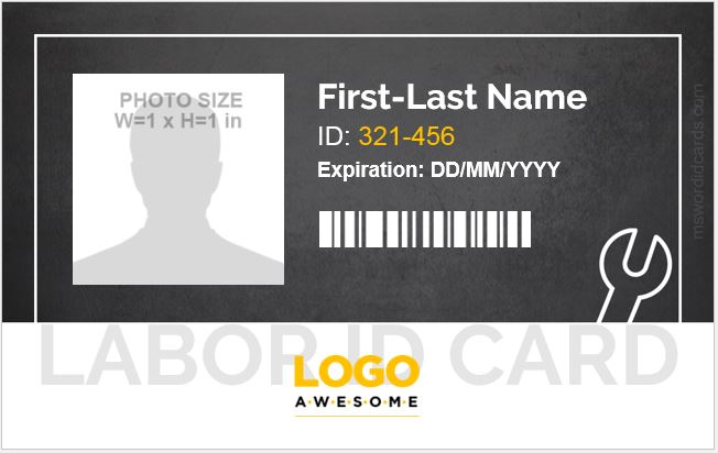 Labor ID Card
