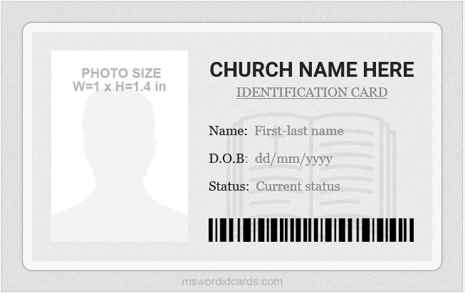 Church ID Template