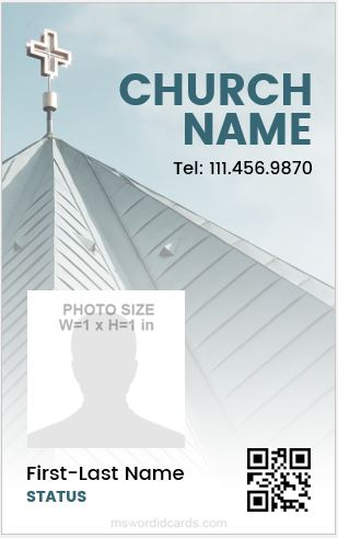 Church ID Badge