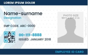 Custom Photo ID Badge