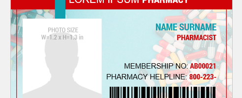 Pharmacist ID Badge
