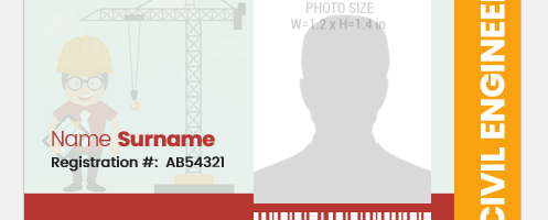 Civil Engineer ID Card
