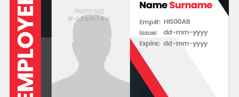 Employee ID Badge Format