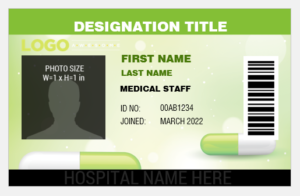 Medical Services ID Badge